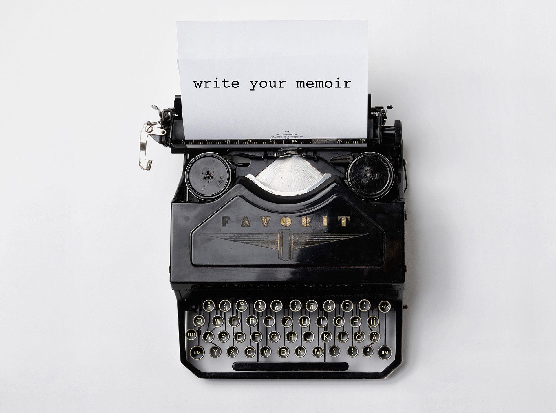 memoir workbook
