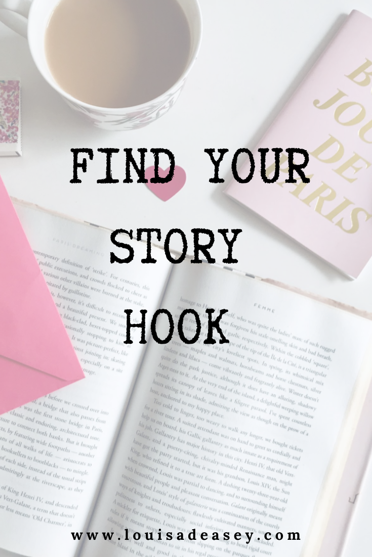 the hook is the only thing that will engage people in your story