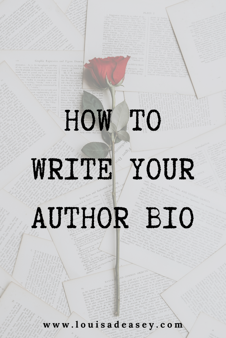Your author bio matters when you meet a publisher or editor for the first time