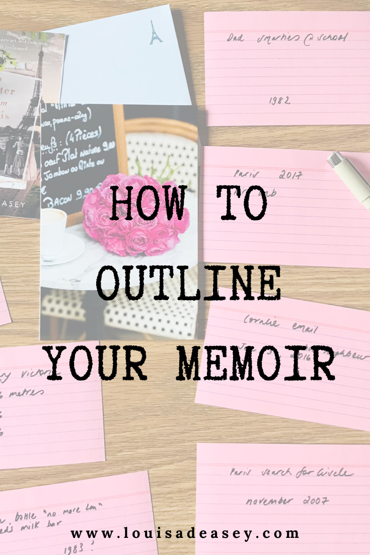 A 3-step process to write a memoir outline