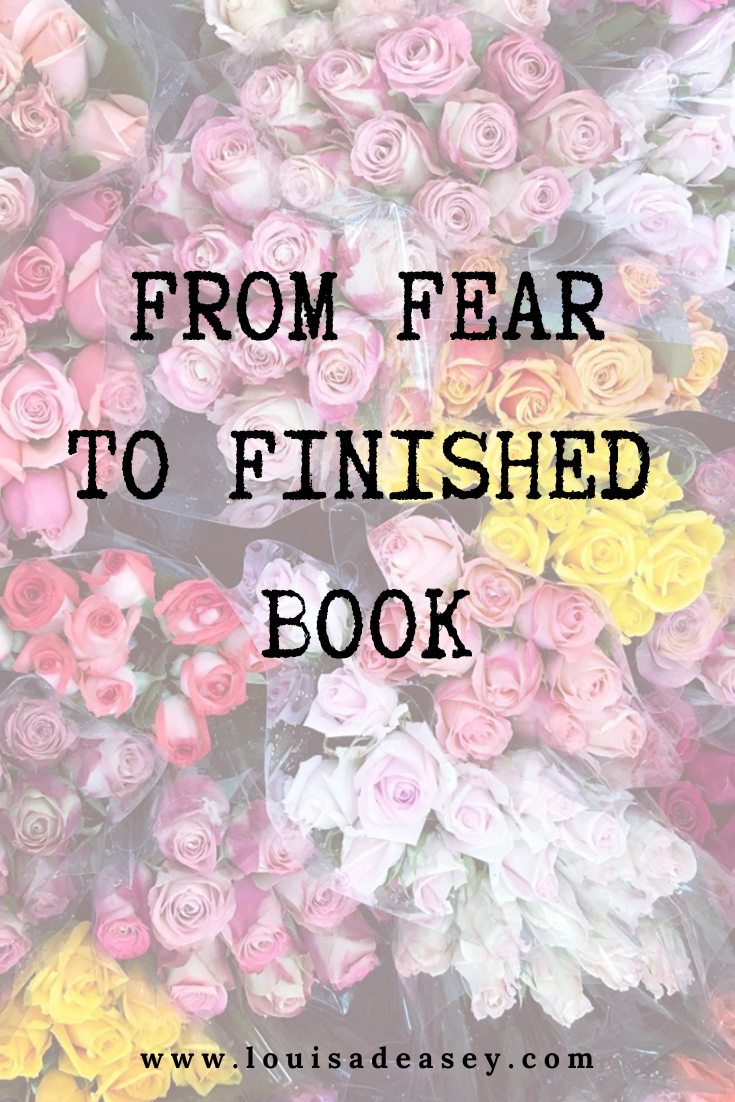 Learn the steps to finish your book and overcome fear