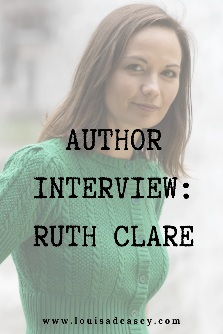 Ruth Clare author of ENEMY