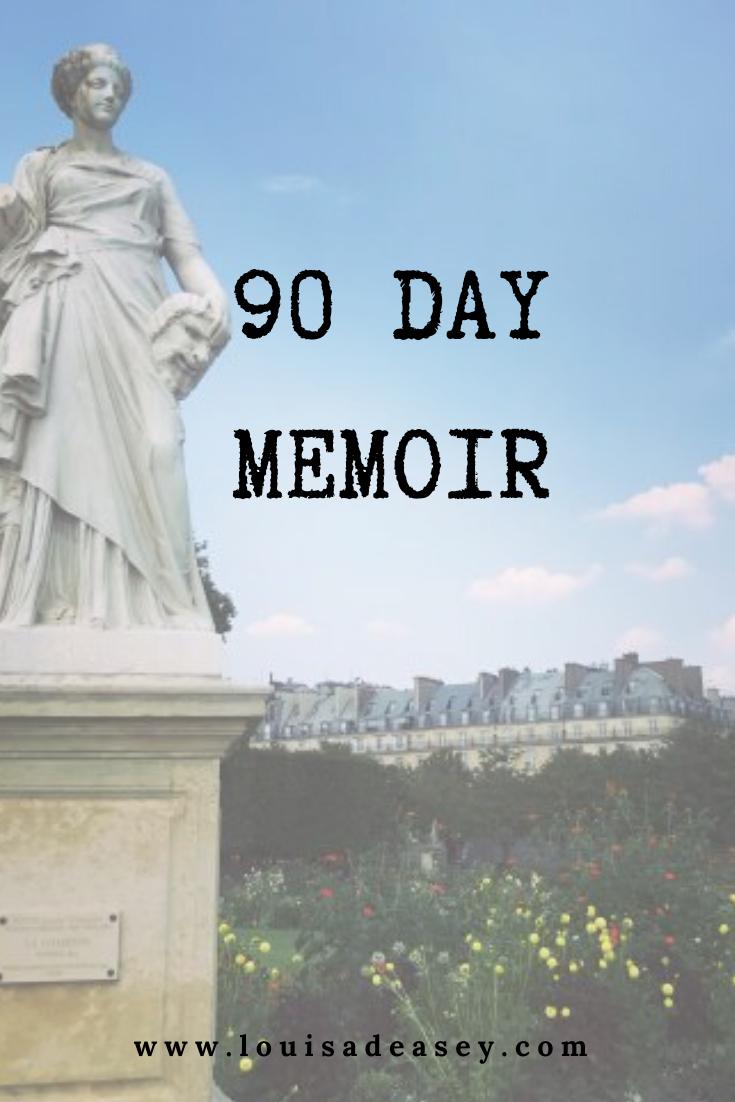 Louisa Deasey 90 day memoir course