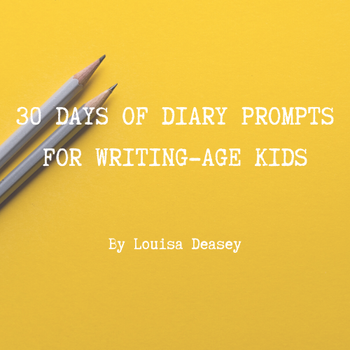 Click on this image to receive your kids diary prompts