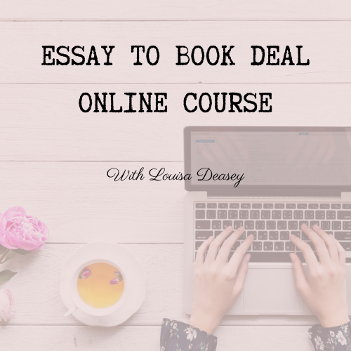 Learn how to turn your essay into a book deal with this online course