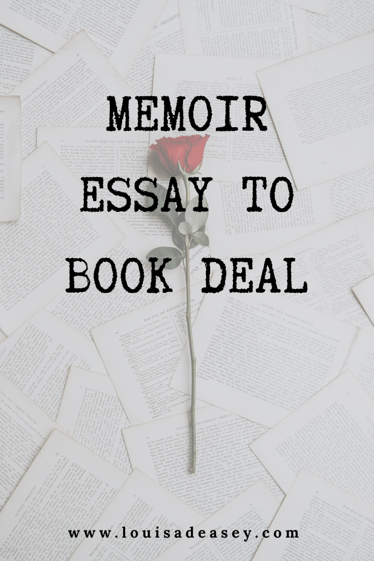 Louisa Deasey essay to book deal online course
